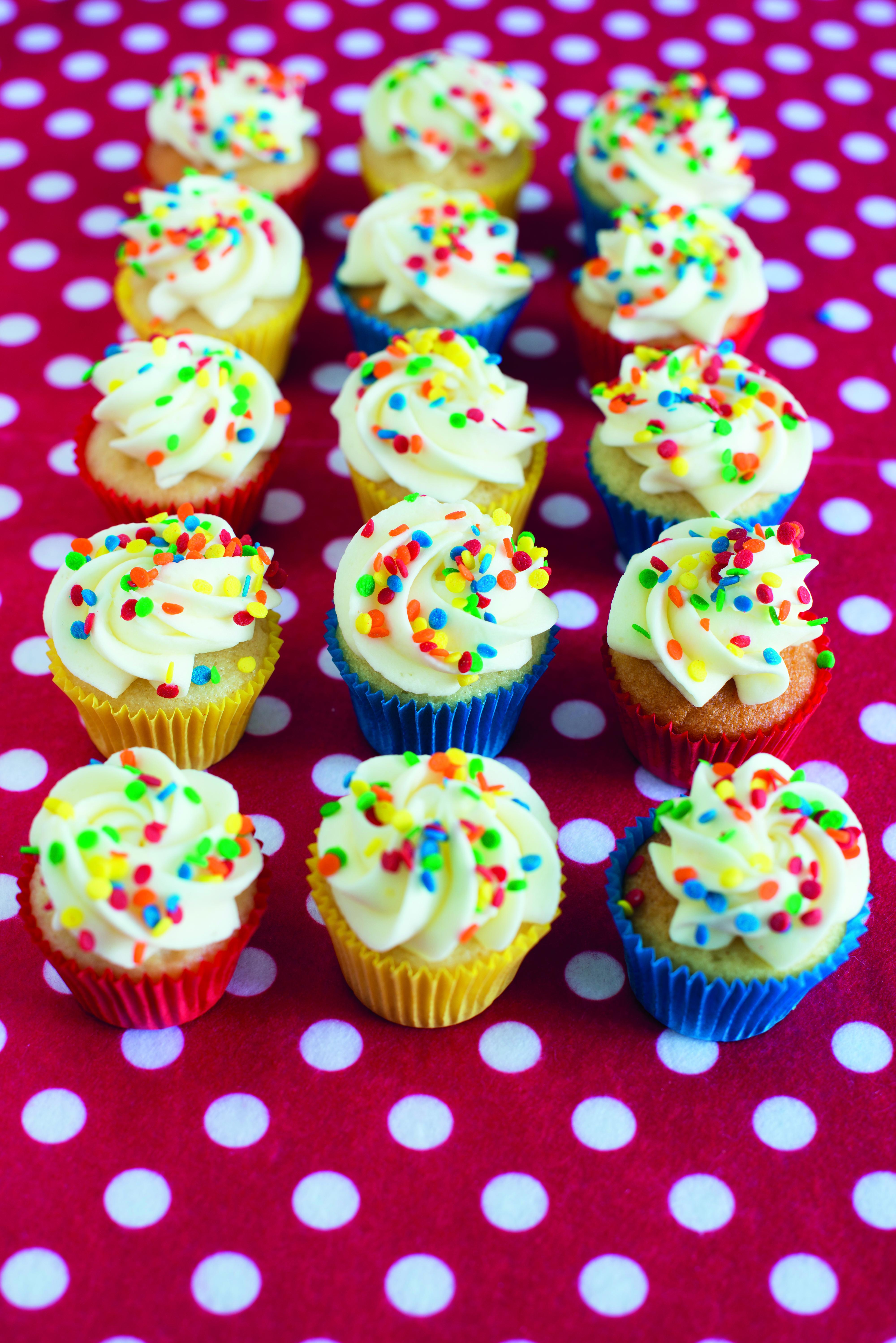 Basic Mini Cupcake