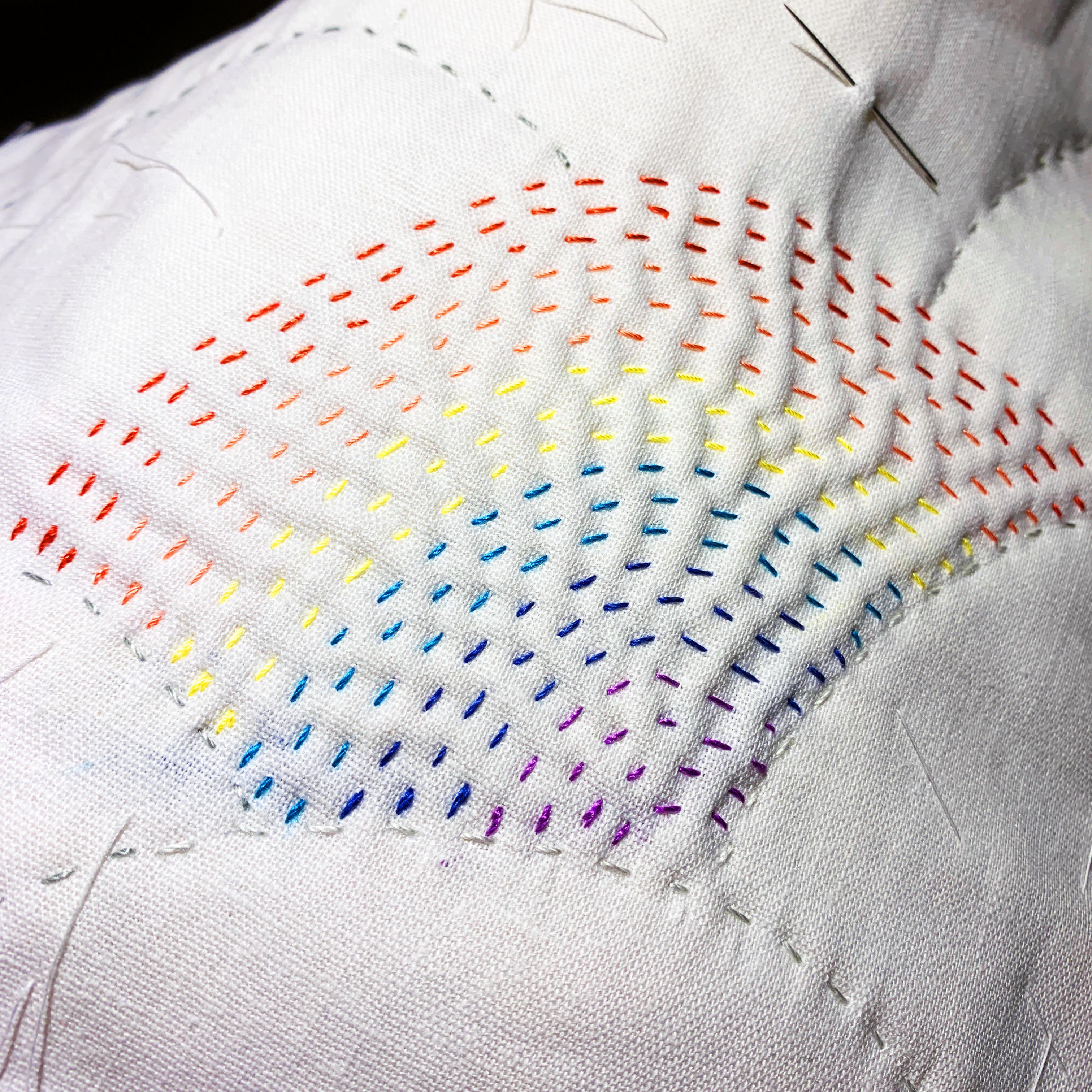 Mini Rainbow Quilt