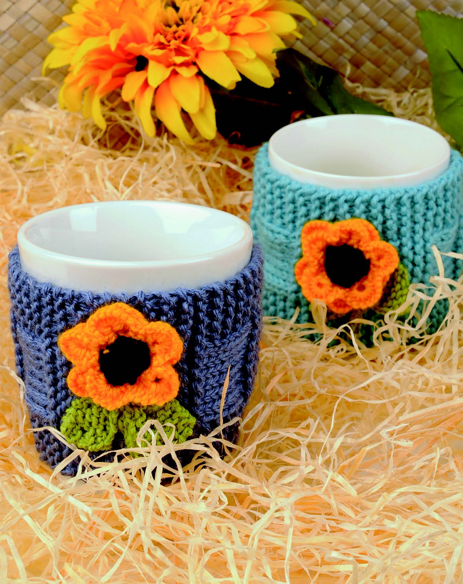 Sunflower Mug Hug