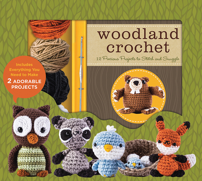 Woodland Crochet Kit
