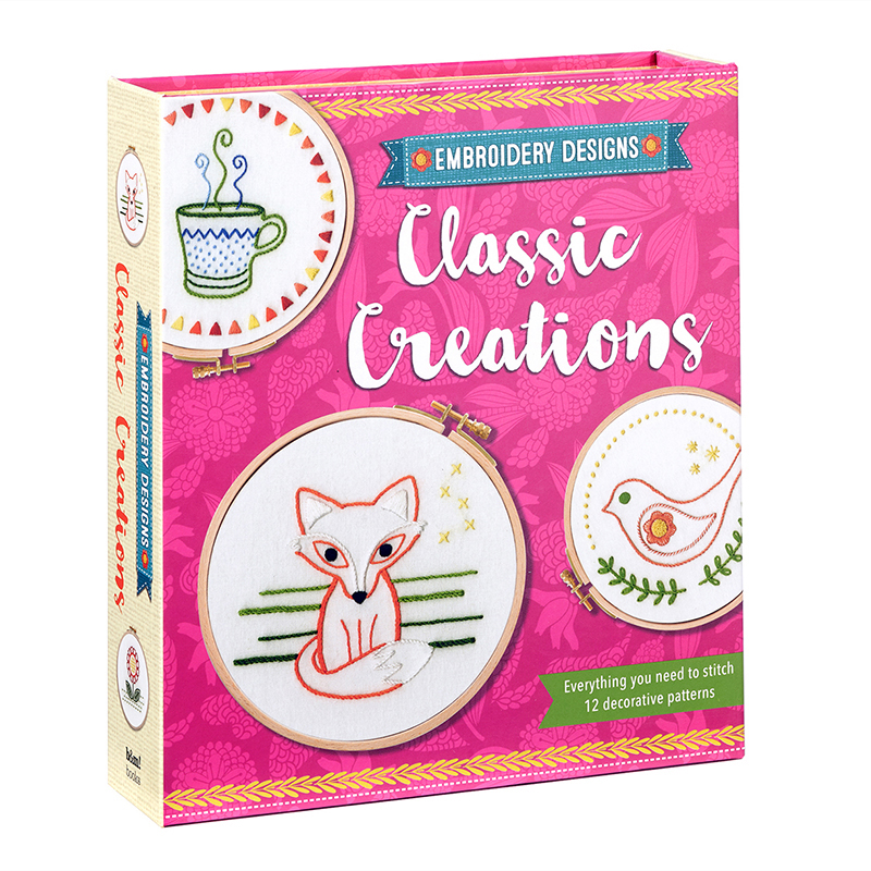 Embroidery Designs: Classic Creations Kit