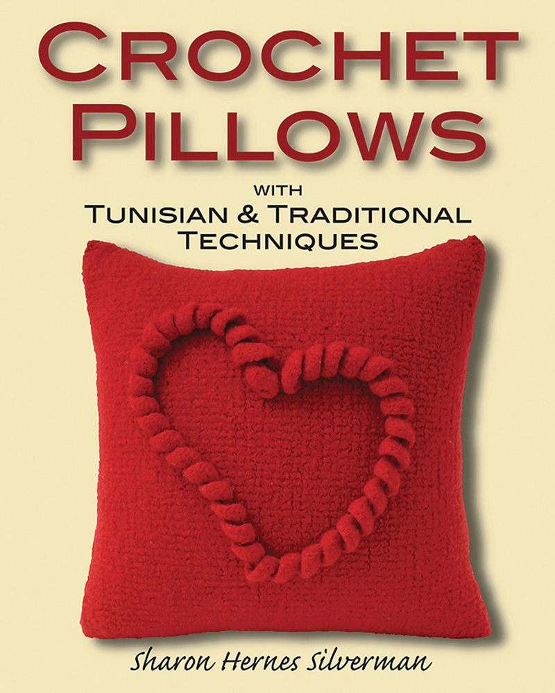 Crochet Pillows with Tunisian and Traditional Techniques