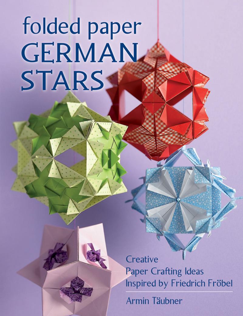 Folded Paper German Stars