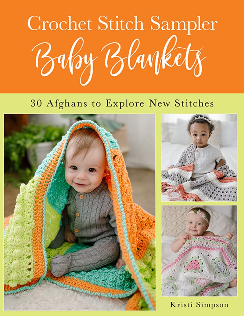 Crochet Stitch Sampler Baby Blankets