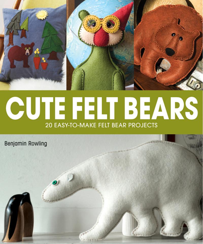 Cute Felt Bears