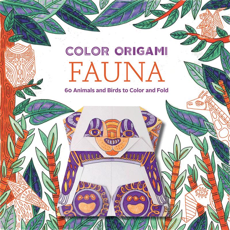 Color Origami Fauna