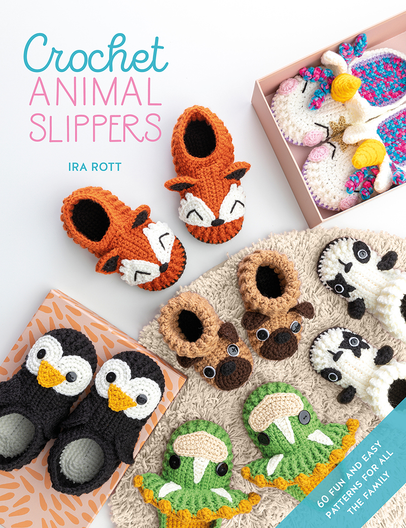 Crochet Animal Slippers