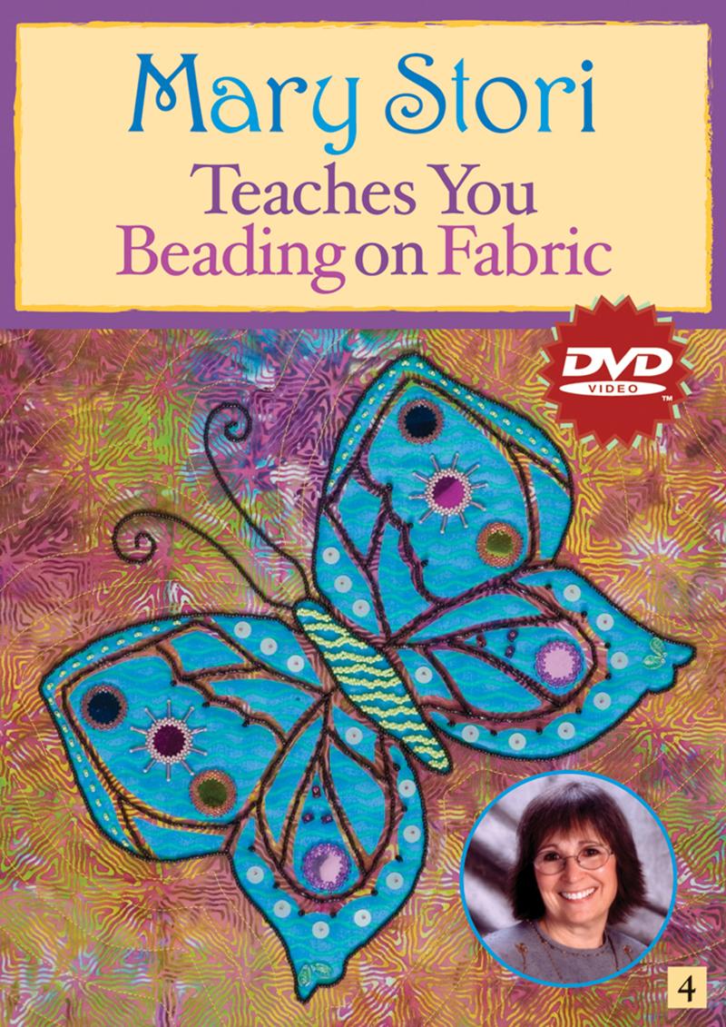 Mary Stori Teaches You Beading On Fabric Dvd