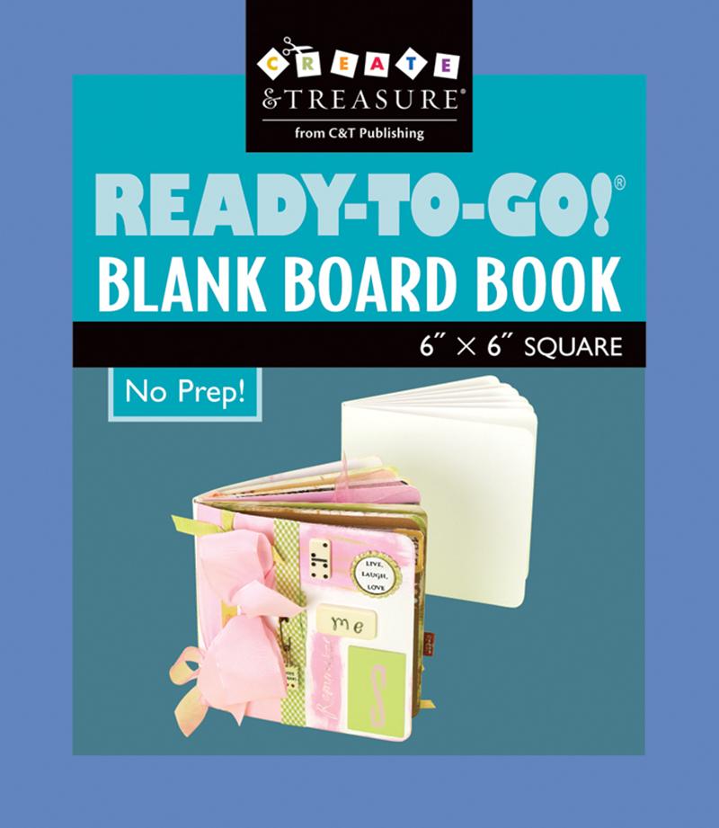 Ready To Go!® Blank Board Book 6
