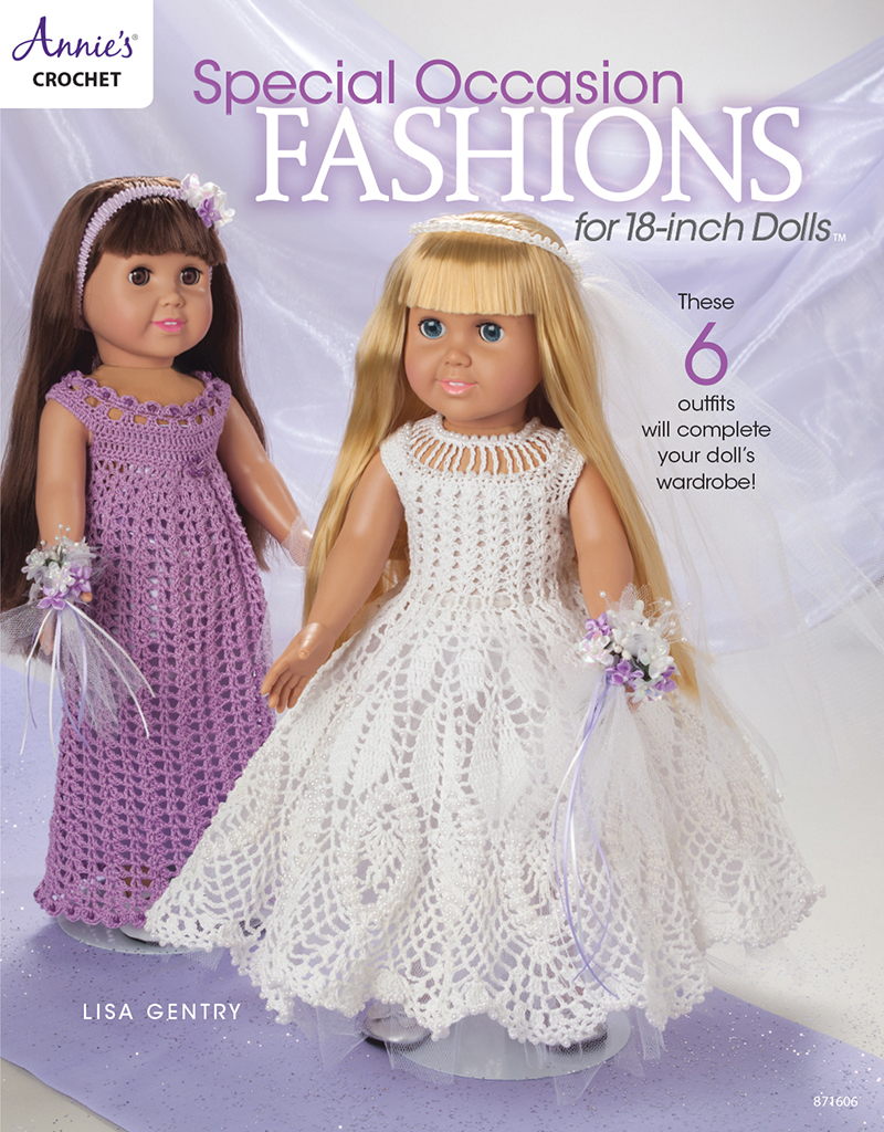 Special Occasion Fashions for 18 inch Dolls
