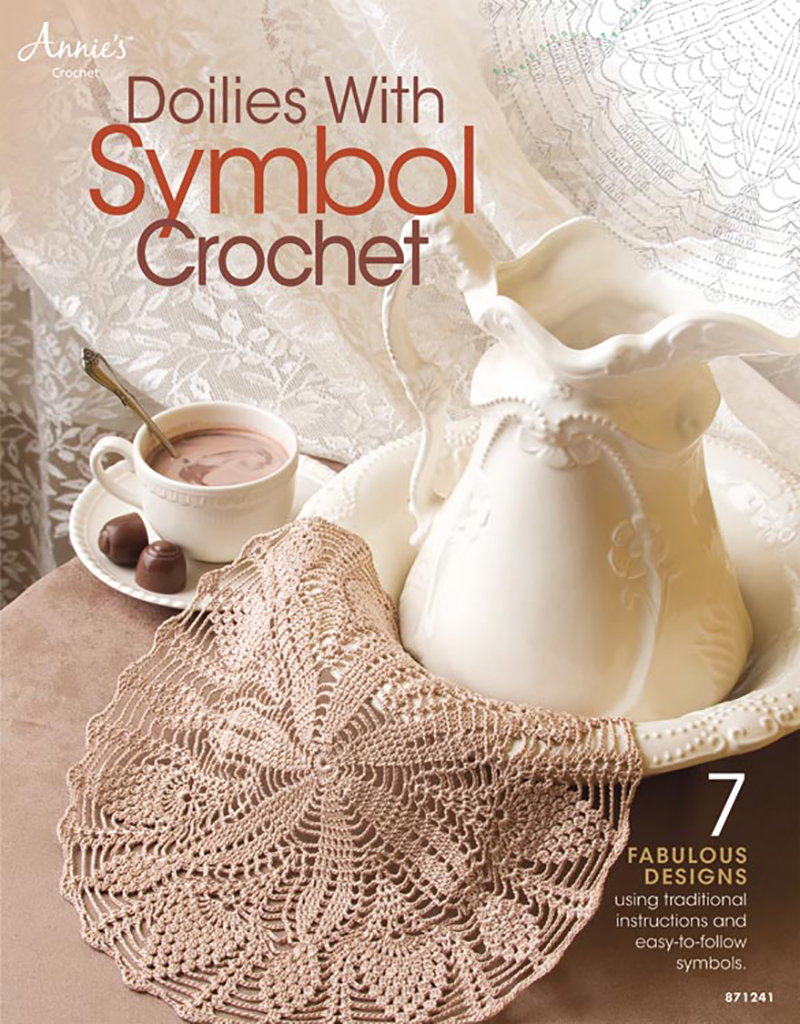 Doilies with Symbol Crochet