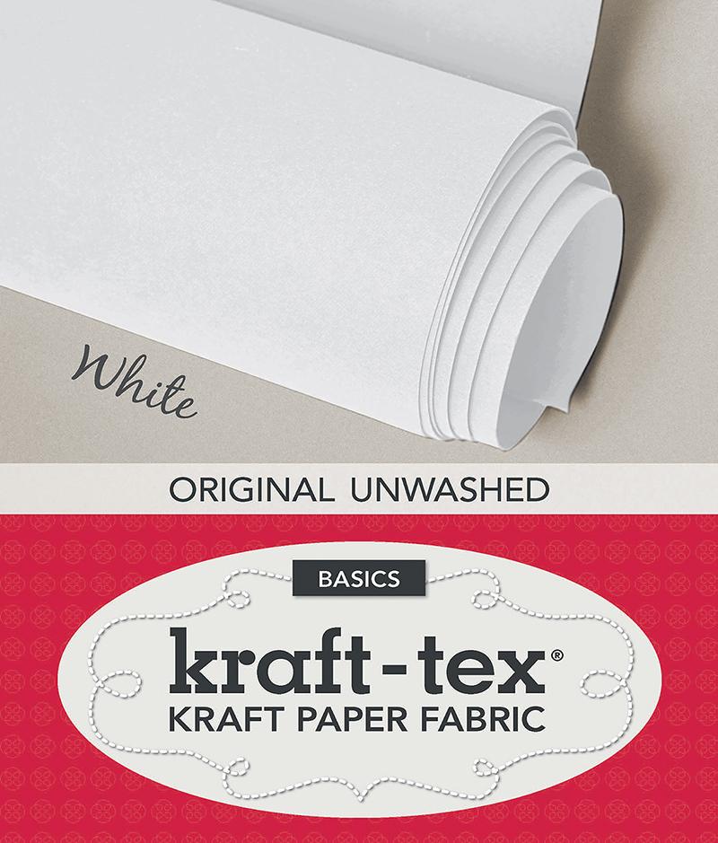 kraft-tex Basics Roll, White