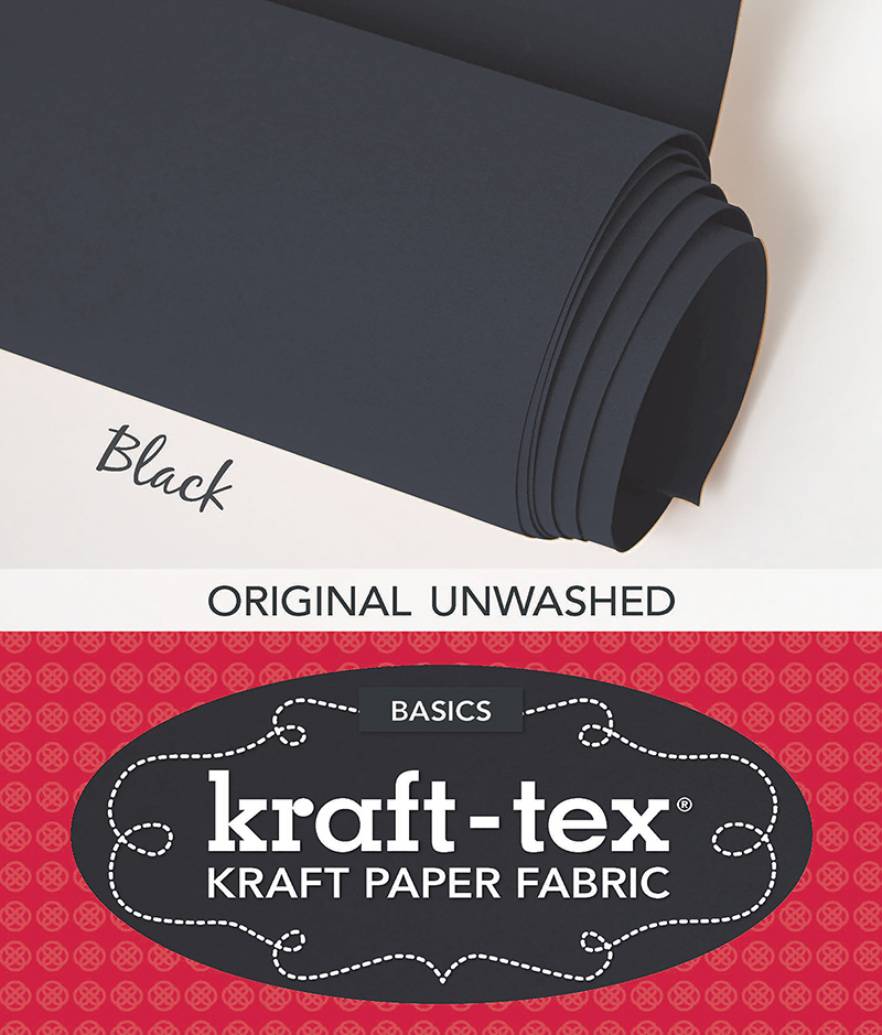 kraft-tex Basics Roll, Black