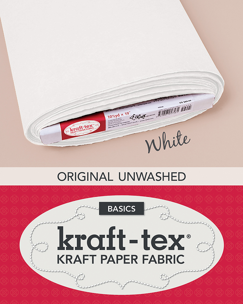 kraft-tex Basics Bolt, White