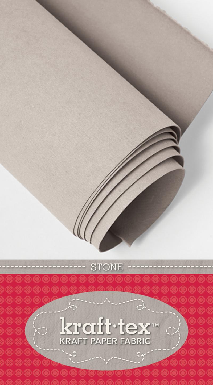 kraft-tex Basics Roll, Stone