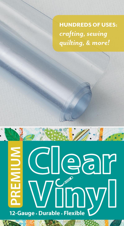 Premium Clear Vinyl Roll 16