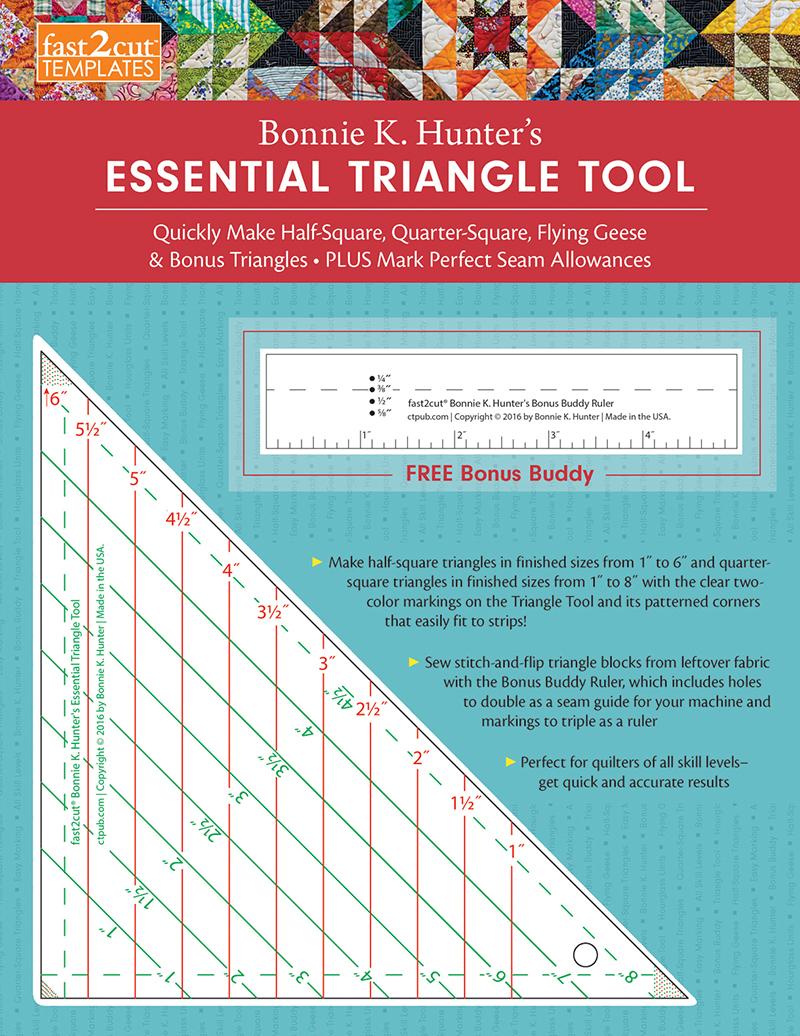 fast2cut® Bonnie K. Hunter's Essential Triangle Tool