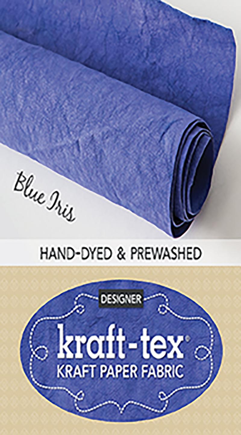 kraft-tex® Designer, Blue Iris