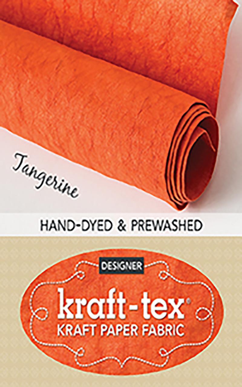 kraft-tex® Designer, Tangerine Tango