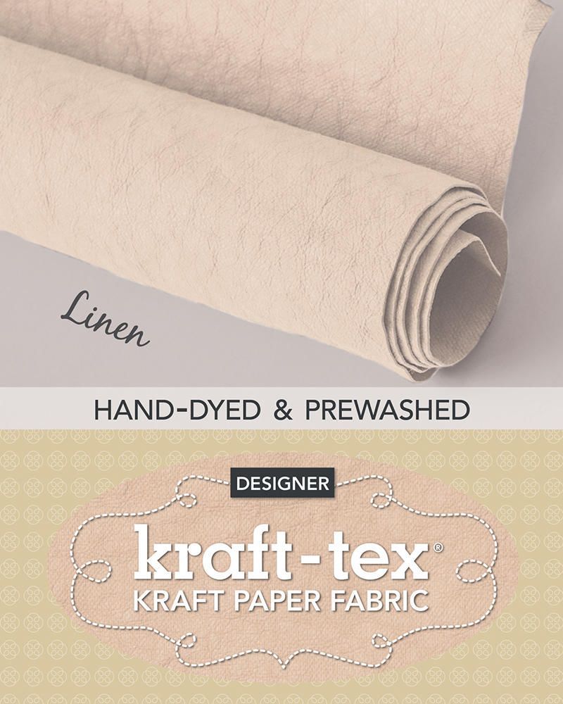 kraft-tex® Roll Linen Hand-Dyed & Prewashed