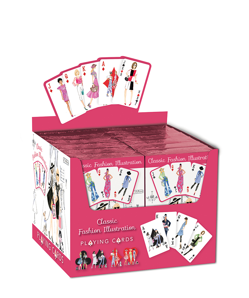 Classic Fashion Illustration Playing Cards