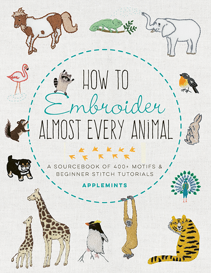 How to Embroider Almost Every Animal