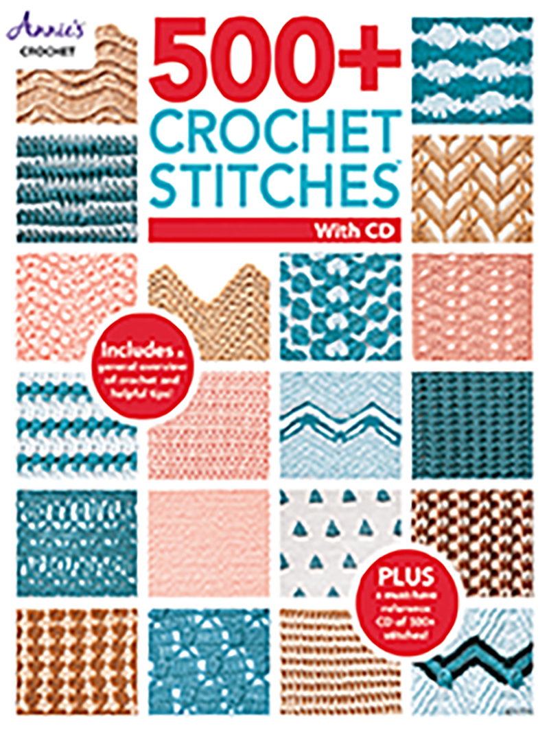 500+ Crochet Stitches with CD
