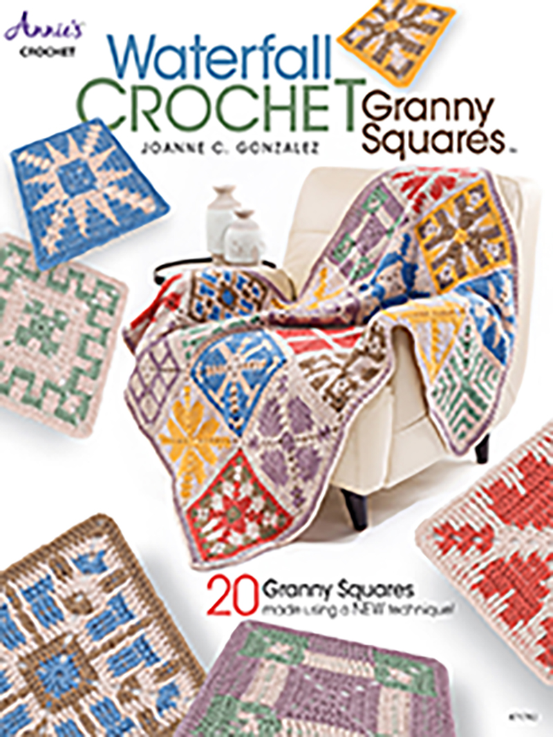 Waterfall Crochet Granny Squares