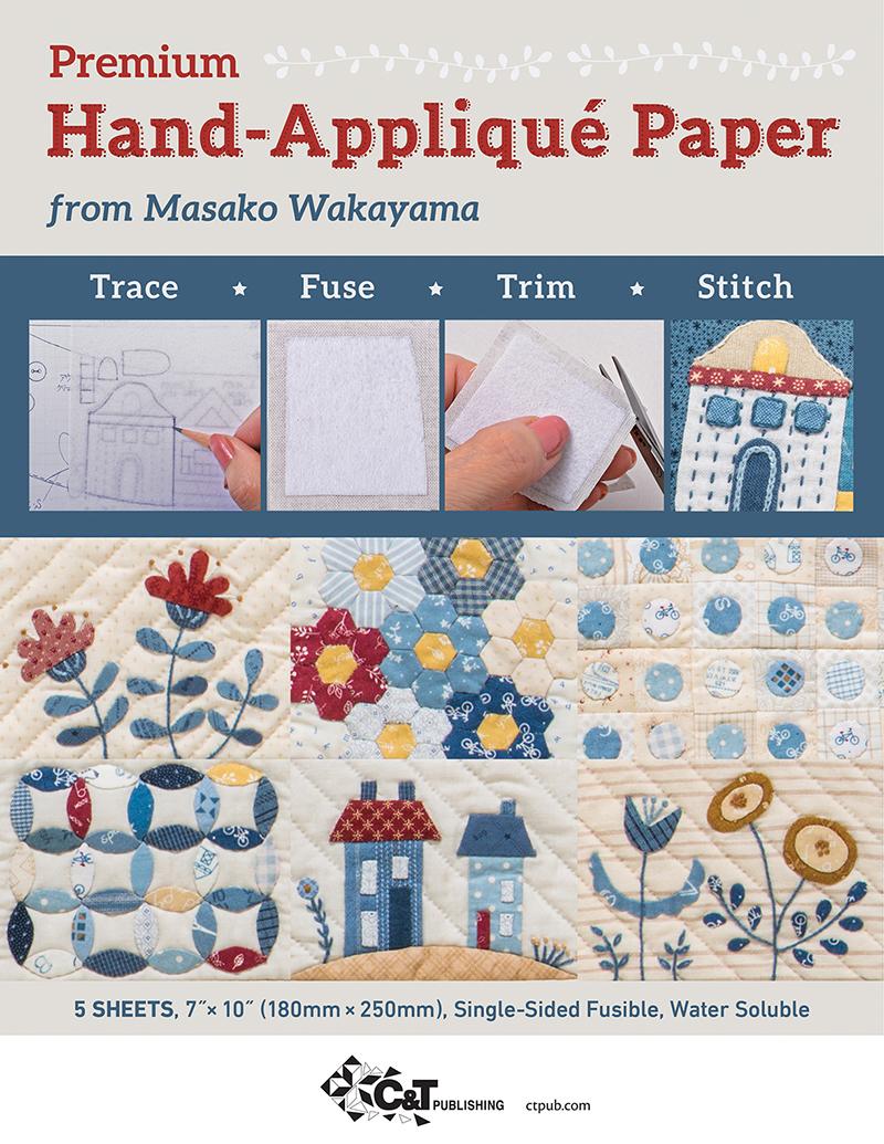 Premium Hand-Appliqué Paper from Masako Wakayama