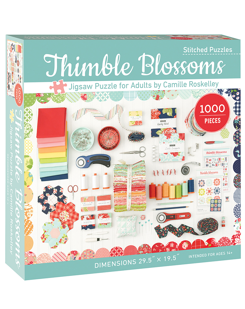 Thimble Blossoms Jigsaw Puzzle for Adults