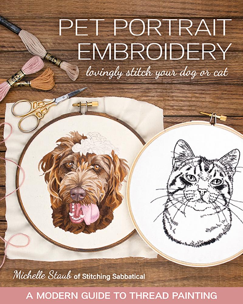 Pet Portrait Embroidery