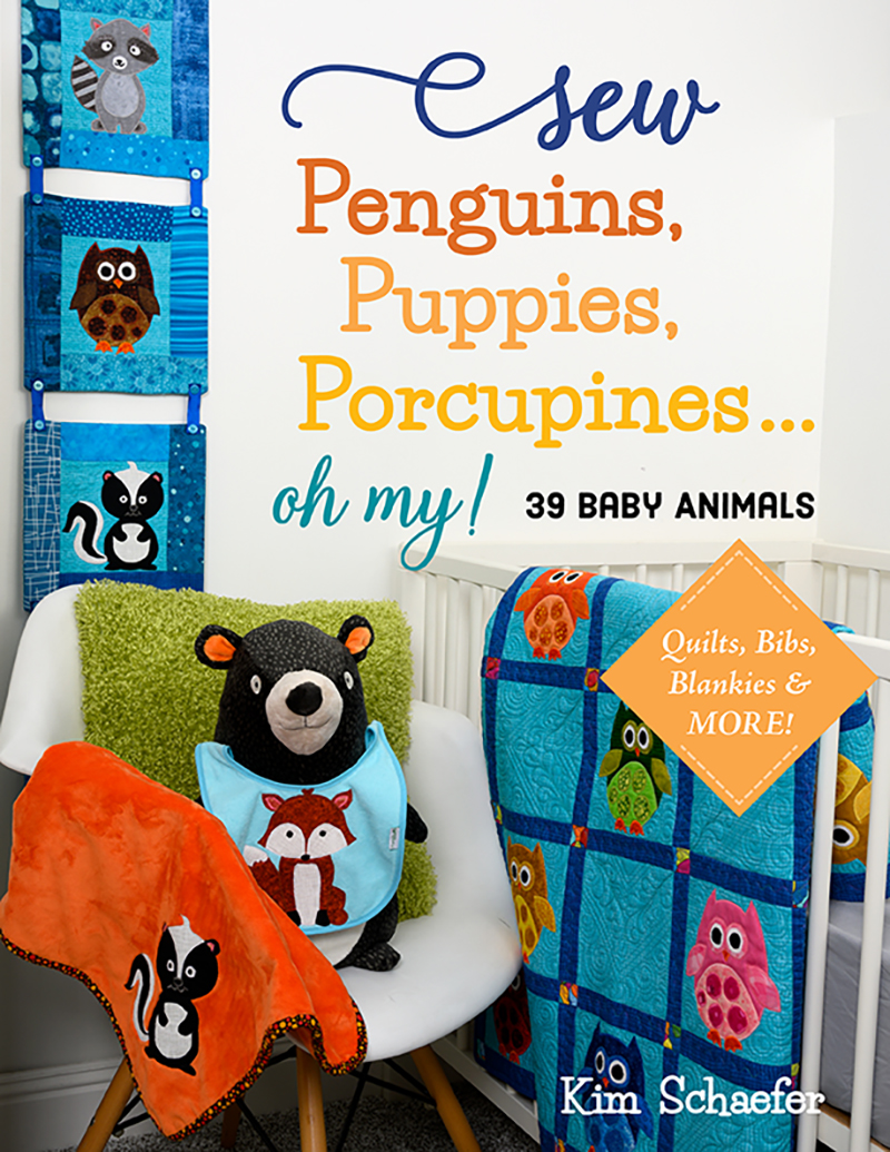 Sew Penguins, Puppies, Porcupines... Oh My!