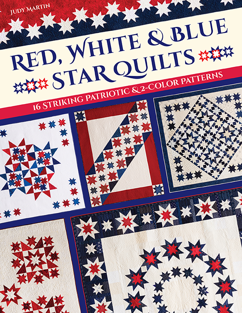 Red, White & Blue Star Quilts