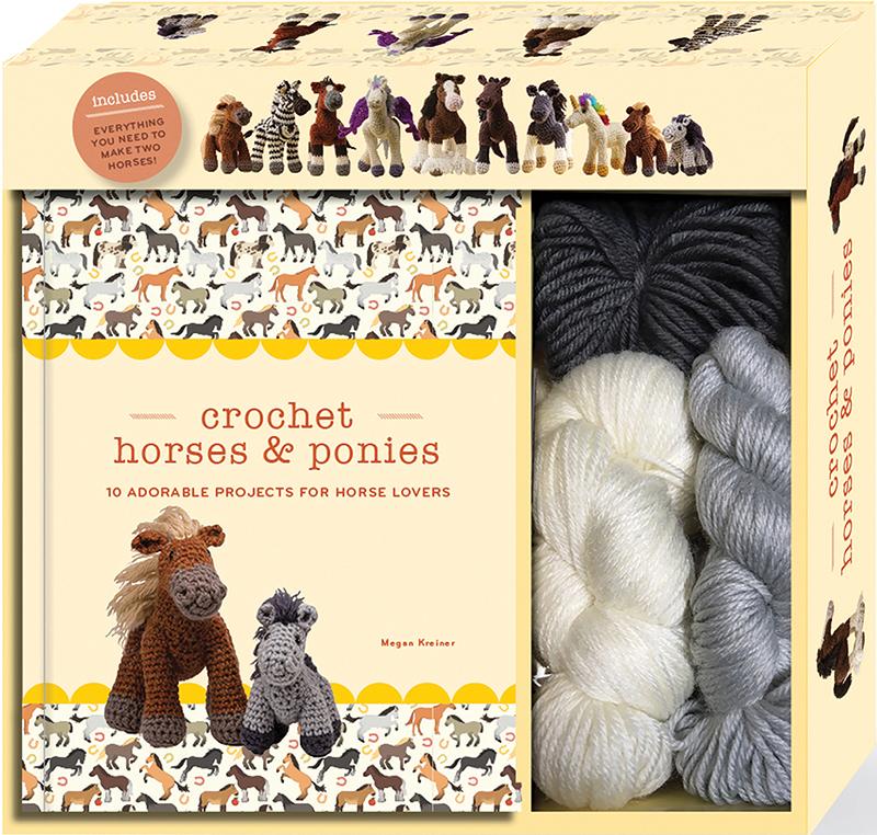 Crochet Horses & Ponies - Kit