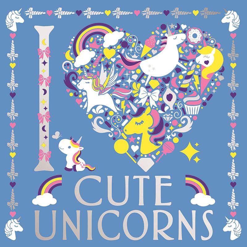 I Heart Cute Unicorns