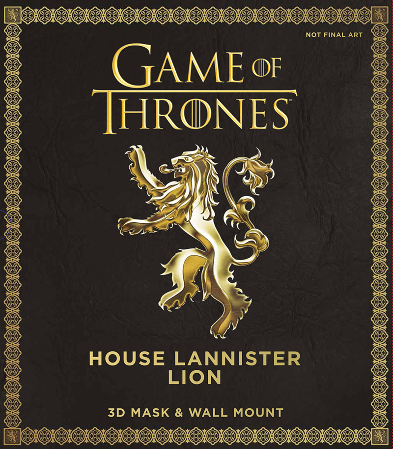 Game of Thrones: House Lannister Lion