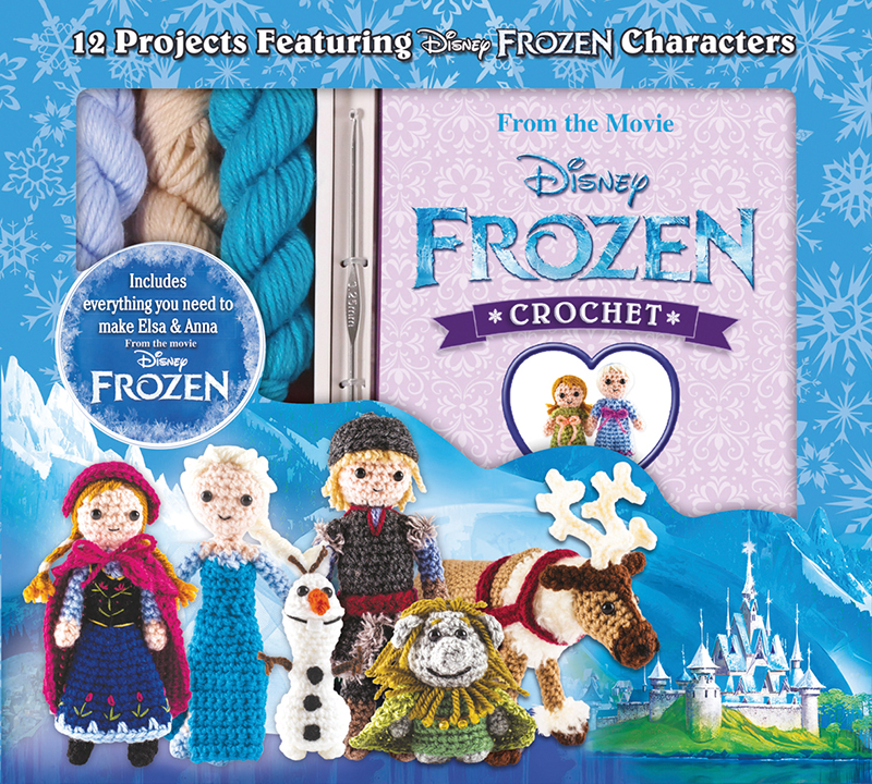 Disney Frozen Crochet Kit