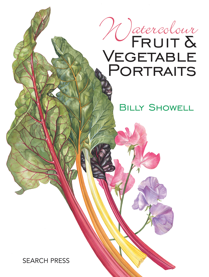 Watercolour Fruit & Vegetable Portraits