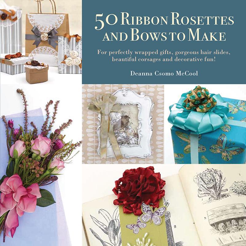 50 Ribbon Rosettes & Bows to Make