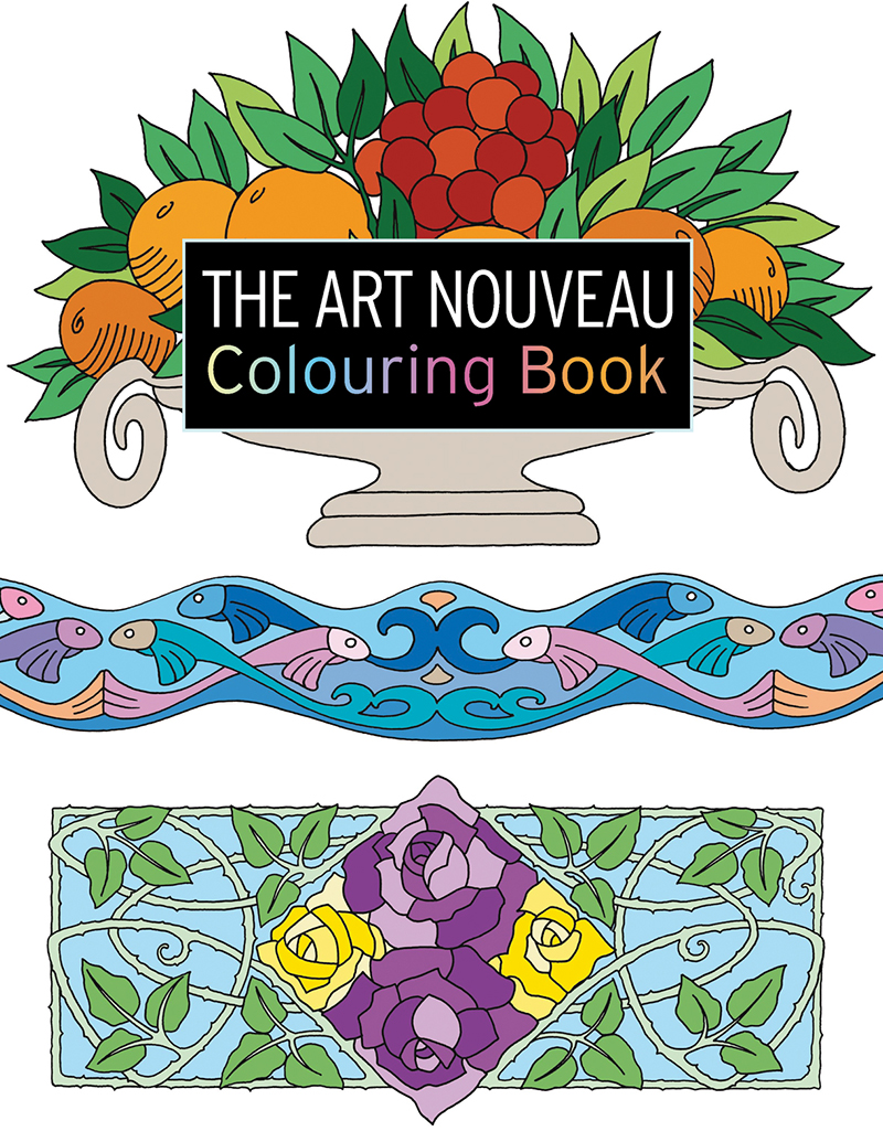 The Art Nouveau Colouring Book