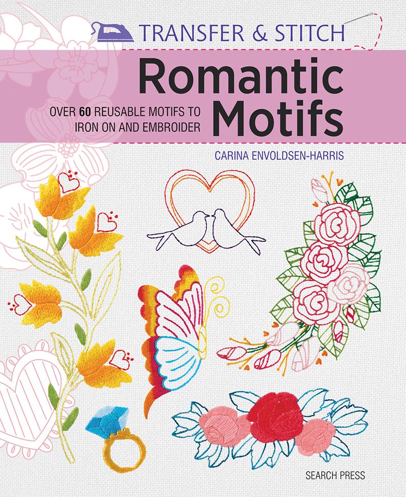 Transfer & Stitch: Romantic Motifs