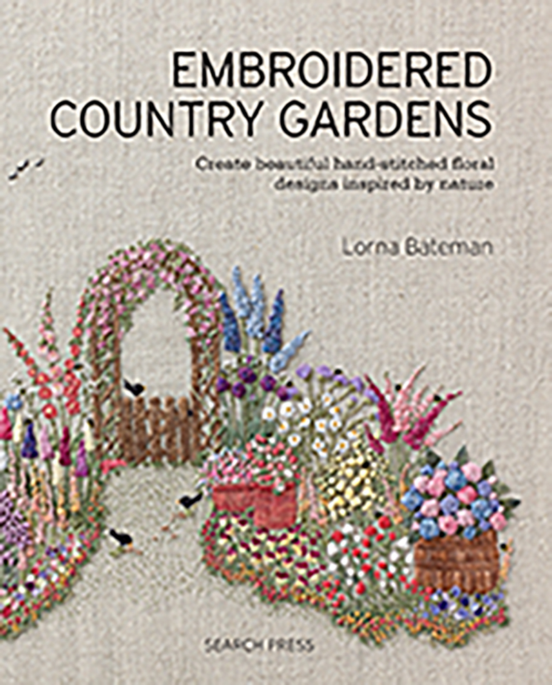 Embroidered Country Gardens