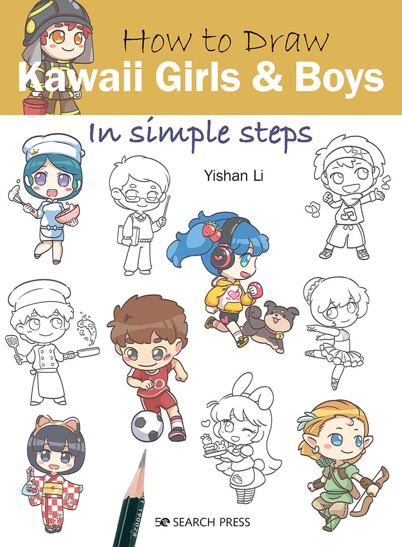 How to Draw: Kawaii Girls and Boys