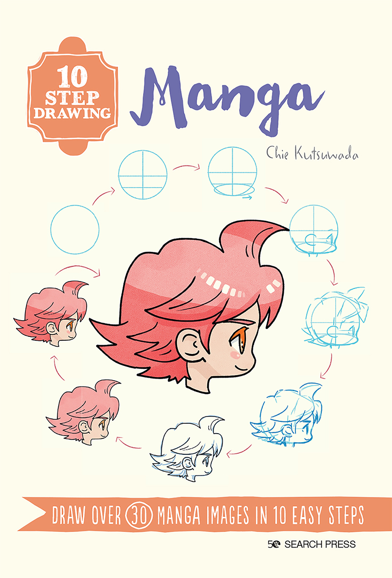 10 Step Drawing: Manga