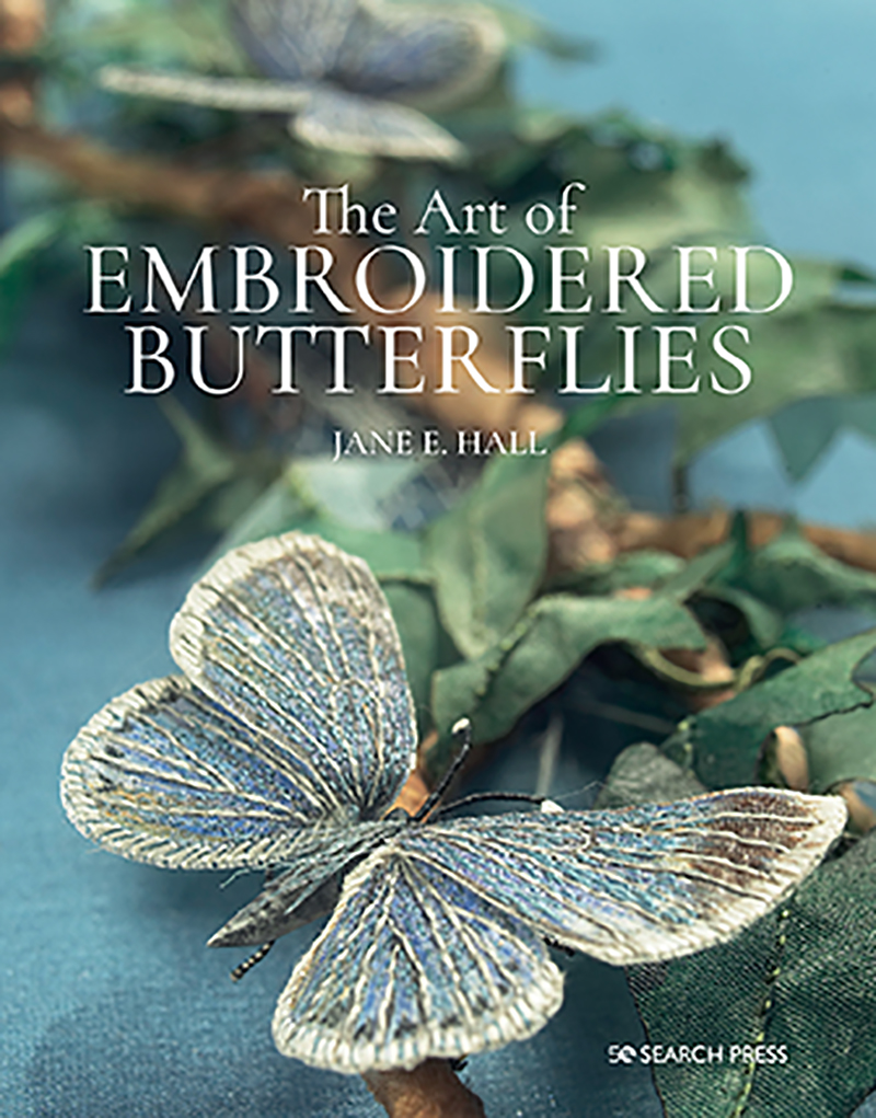 The Art of Embroidered Butterflies (paperback edition)