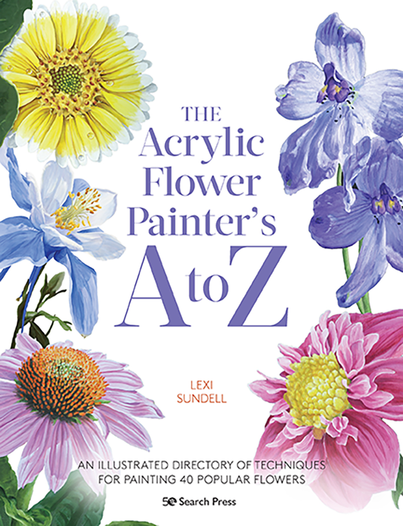 The Acrylic Flower Painter's A to Z