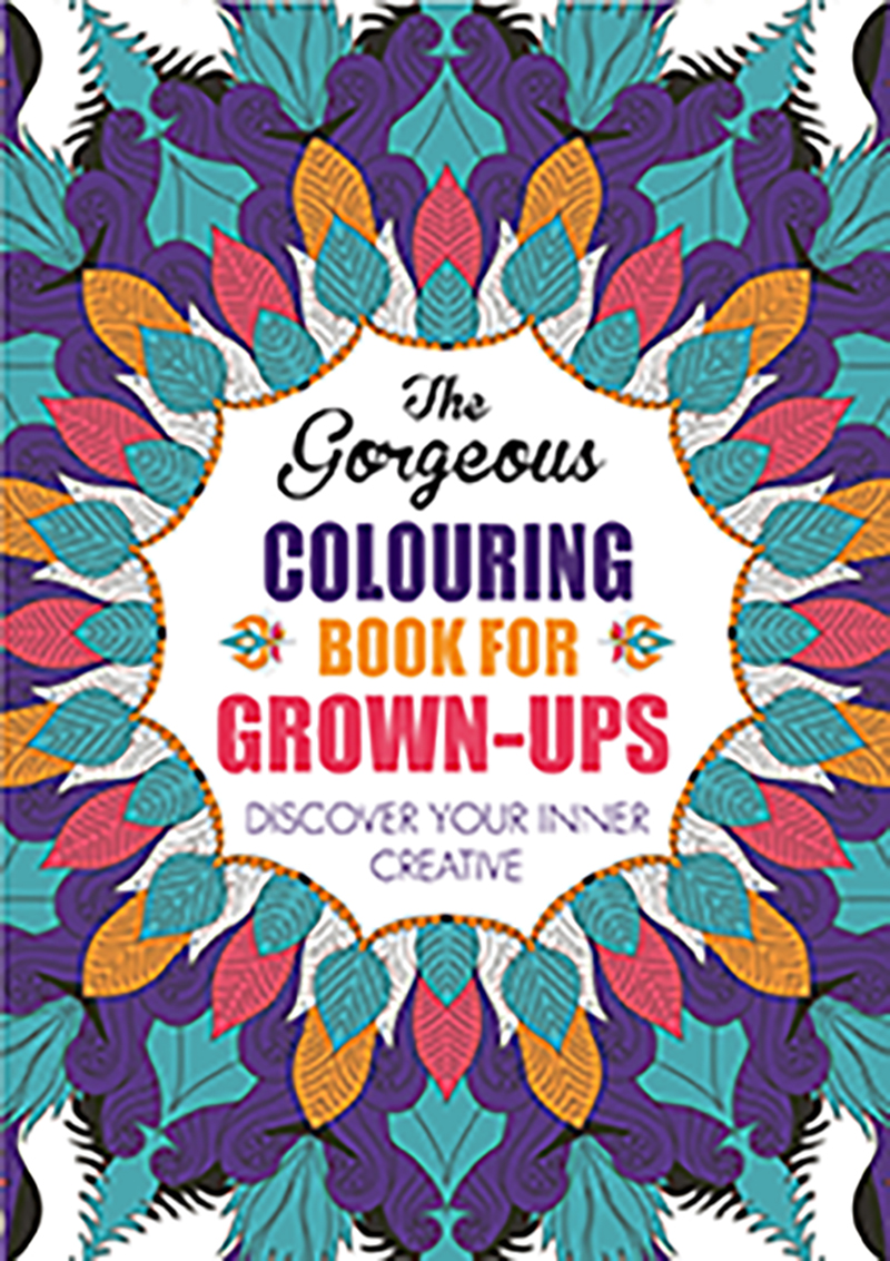 The Gorgeous Colouring Book for Grown-ups