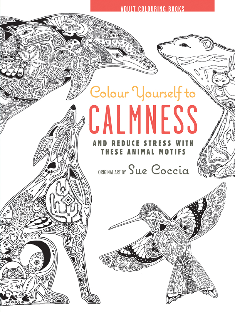 Colour Yourself to Calmness