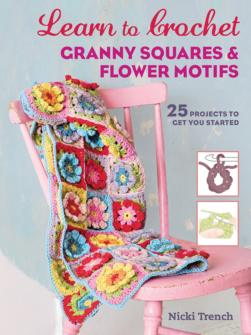 Learn to Crochet Granny Squares & Flower Motifs