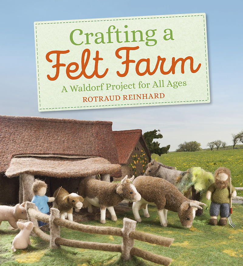 Crafting a Felt Farm